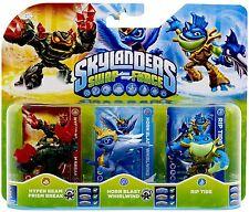 Skylanders Triple Pack E (SF) WII PS3 XBOX360 3DS WIIU PS4 XBOXONE