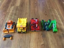 Transformers Robots in Disguise 2001 Landfill Wedge Grimlock HeavyLoad Hightower