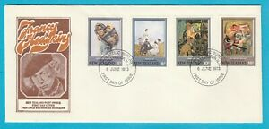 NZ New Zealand Paintings by Frances Hodgkins First Day Cover 1973