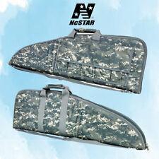 NcStar 42 inch Tactical Rifle Soft Gun Case Shotgun Mag Pouch Bag Digital Camo