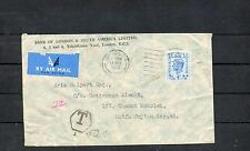 Israel 2nd Postage Due Three Color Franking Cover from Great Britain!!