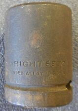 """WRIGHT 6832 1"""" Standard Impact Socket, 3/4"""" Drive, 6-point, NEW OLD STOCK"""