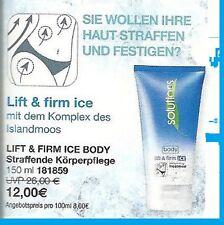 Solutions LIFT & Firm ICE ben teso fine igiene personale AVON NUOVO