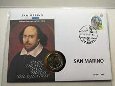 "Numisbrief San Marino ""William Shakespeare"" - 2016 - € 2"