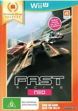 FAST Racing NEO Nintendo Selects Wii U NEW SEALED DISPATCHING ALL ORDERS BY 2 PM