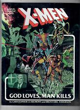 X-MEN: GOD LOVES, MAN KILLS - Grade NM - Original Graphic Novel. First Print!