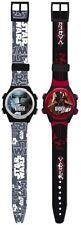 Star Wars * DARTH VADER * Schwarz Armbanduhr Uhr Kinderuhr Armband neu