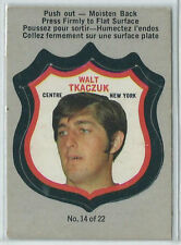 1972-73 OPC O-Pee-Chee insert shield #14 Walt Tkaczuk New York Rangers NM