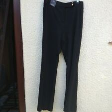 M&S Collection Black Slim Boot Two Way Stretch Trousers UK 20 Regular New Tagged