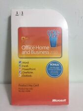 Microsoft Office Home and Business 2010 Product Key Card_Brand New