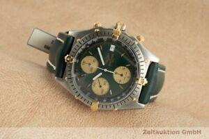 Breitling Chronomat Chronograph Stahl / Gold Automatik Herrenuhr Ref. 61950A
