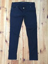 "Zara ""Mama Collection"" Damen schwarz DENIM Jeans EUR S L29"
