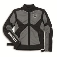 New Spidi Ducati Company 14 Fabric Jacket Men's S Black/Grey #981025903