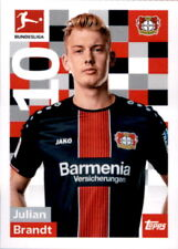 TOPPS Bundesliga 2018/2019 - Sticker 165 - Julian Brandt