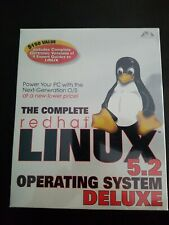 The Complete Redhat Linux 5.2 Operating System deluxe FACTORY SEALED BRAND NEW