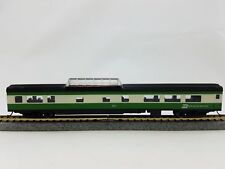 N Smooth Side Passenger Dome Car Burlington Northern (Green/White) (1-040228)
