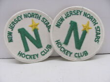 New Jersey North Stars Hockey Club 2 Patches