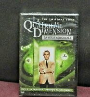 DVD NEUF SOUS BLISTER LA QUATRIÈME DIMENSION THE TWILIGHT ZONE