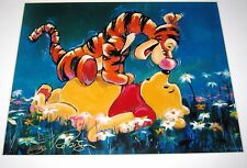 SIGNED Giclee Lithograph WINNIE POOH TIGGER by ERIC ROBISON art print Disney