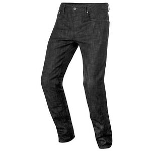 Alpinestars Copper Black Technical Aramidic Fiber Denim Motorbike Jeans