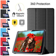 Protective Leather Magnetic Case For Samsung Galaxy Tab A Smart Stand Flip Cover