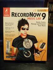 Roxio RecordNow 9 Music Lab Software  New & never used NRFB