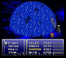 Final Fantasy III 3 - SNES Super Nintendo Game