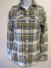 Genuine Superdry Thick Cotton Check Shirt - S UK 8 Euro 36