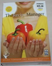 The Recipe Manager Version 3 Computer Software NIB