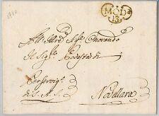 ANTICHI STATI  storia postale - PRECURSORI busta prefilatelica: MODENA 1780