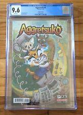 Aggretsuko #1 Cover D Variant CGC 9.6 Graded Oni Press Comics 1st Printing