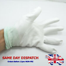 Size M ESD Safety Work Gloves PU Anti-Static Anti-Cutting Protection VQ Palm F63