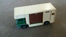 Vintage Matchbox Superfast No. 40 Horse Box w/ Green Cab ~1977
