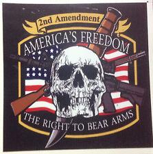 2nd   AMENDMENT  GUN PERMIT STICKER