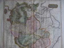 1815 Etching Large Original Map of Persia (Iran Iraq), Thomson's New Atlas.