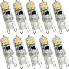 LeMeng G9 LED Light Bulb 2W, Mini Size 20W Equivalent 200LM, White White 2700K