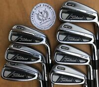Titleist 710 AP2 Irons 4 - PW - DYNAMIC GOLD S300 STIFF FLEX SHAFTS