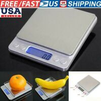 0.1g Precision Jewelry Kitchen Food Electronic Digital Balance Weight Scale 3kg
