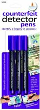 Cathedral Counterfeit Detector Pen 3 Pack, Identifies a Forgery in Seconds