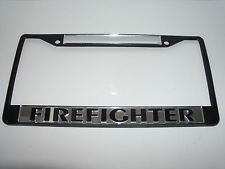 Firefighter License Plate Frame Brand New!