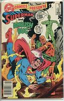 DC Comics Presents 1978 series # 81 Canadian variant fine comic book
