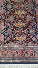Beautiful Rich, hand Knotted 100% New Zealand Wool pile Area Rug 5x8