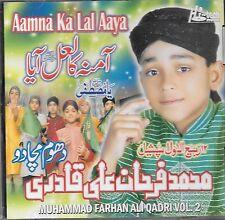 Aamna KA Lal Aaya - Mohammed Farhan Ali Qadri - Volume 2 - Neuf Naat CD