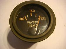 Vintage WATER temperature gauge Chris Craft etc NEW OLD stock 6v 12v 24v