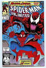 Spider-man Unlimited #1  NM+ 1993 Maximum Carnage Marvel Amricons 1st Shriek
