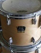 "Used Yamaha Stage Custom 12"" Rack Tom Drum Natural Wood Finish!"