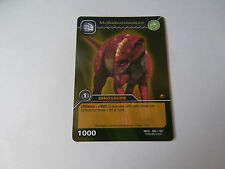 Carte Dinosaur King Muttaburrasaure Edition de Base !!!
