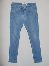 Topman Stretch Skinny-Fit - W32 L32 - Mens Blue Denim Jeans
