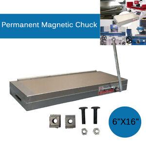 400x150 mm Magnetspannplatte Permanent Magnetfutter Magnettisch Aufspannplatte