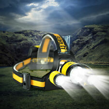 High Power 3xXM-L2 LED Headlamp Flashlight Headlight AA Light Head Torch Camping